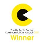 UK PSCA 2017 Winner Badge